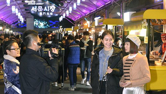 中'항저우TV' 서문夜시장 맛에 반하다