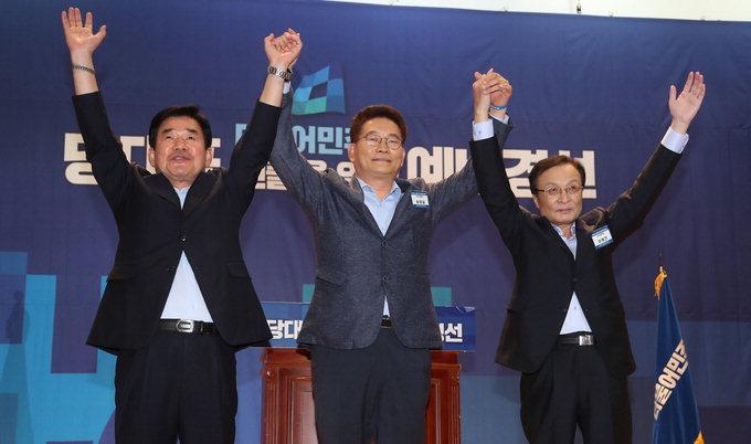 김진표·송영길·이해찬 본선 진출…'親文 3파전'으로 가닥