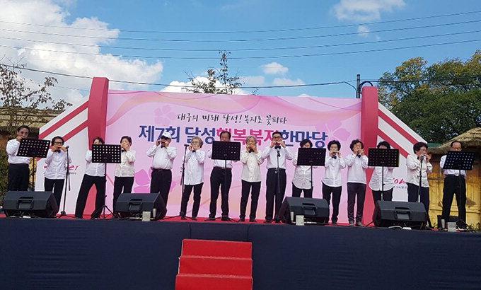 평균 75세 하모니카반 '나이야 가라'…연 10여회 자선공연·재능봉사