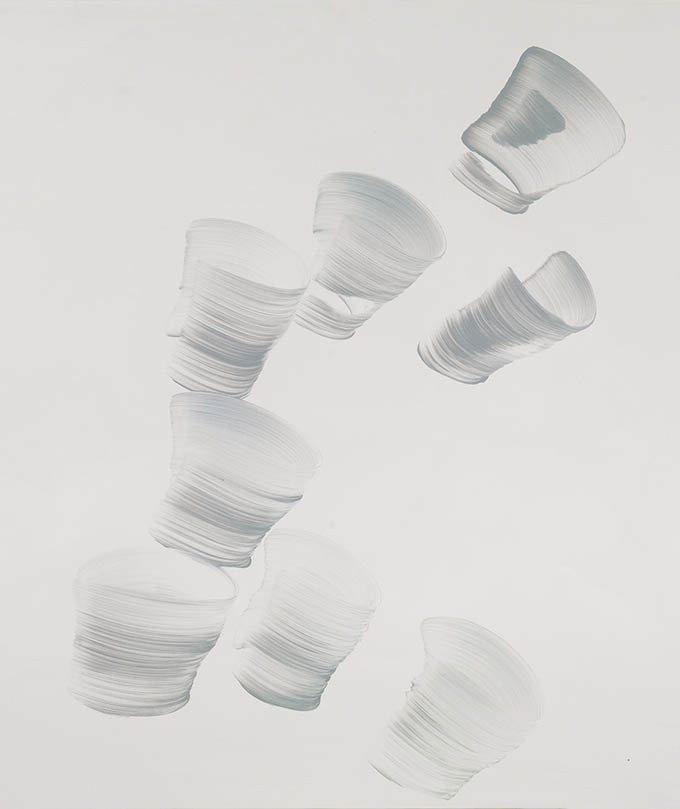 간결한 색과 단순한 형태의 담백함…16일까지 김문숙 작가 개인전