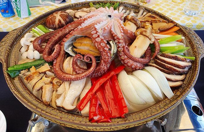 '영덕 버섯연포탕' 임산물 9도 요리대회 우수상