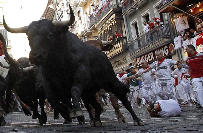 스페인 소몰이 축제