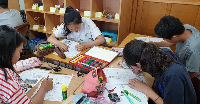 대청초등 4∼6학년 대상 직업교육…과학마술사·디자이너 등 선택 체험