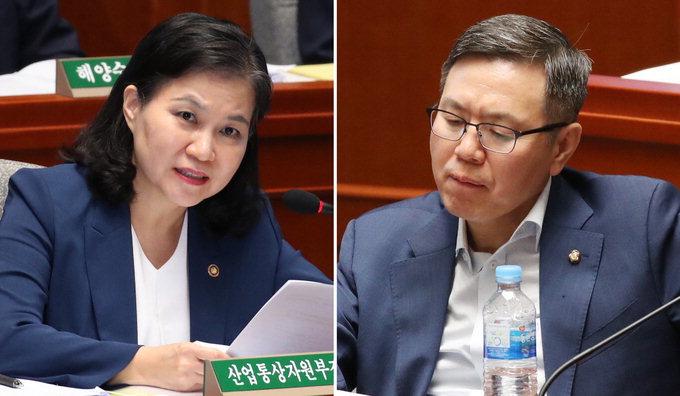 정태옥 의원-유명희 통상교섭본부장 '부부 설전'결국 불발