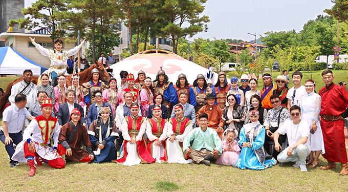 대구몽골인회·몽골문화경제원, 나담축제 개최