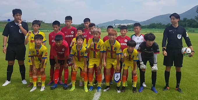칠곡호이유소년축구클럽, 동아시아 유소년축구 준우승