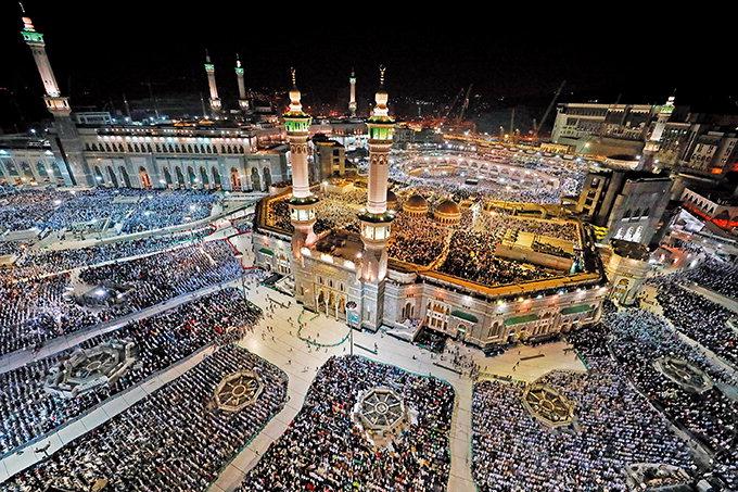 기도하는 무슬림