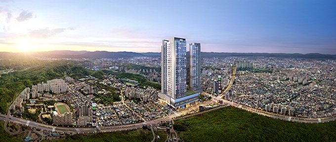 수성구 학군명당에 지하철 2호선 200m 거리 초역세권