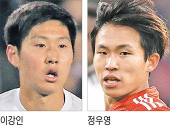 이강인·정우영, 유럽리그 주전경쟁 나선다