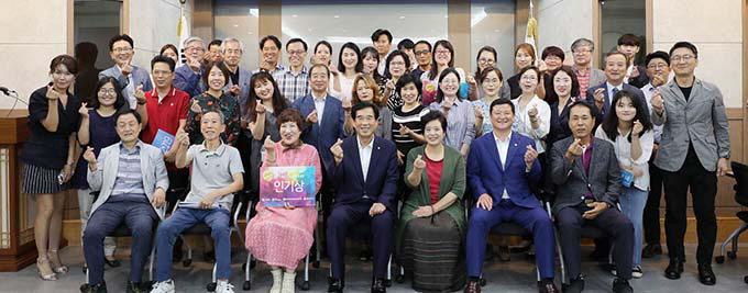 """경산시 제3기 도시재생대학 수료식 """"市 추진사업 역할 기대"""""""