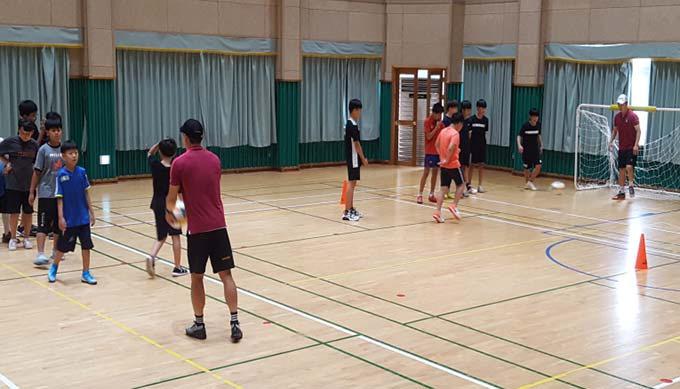 상주 성동초, 상주상무축구단 선수들과 스포츠 교실
