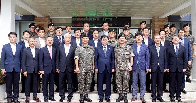 안동수요회, 안동경찰서 의경·육군 3260부대에 위문금