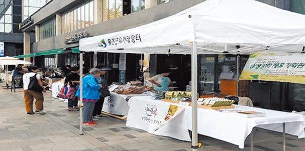 울진콩6차산업클러스터사업단, 서울서 지역제품 판매전