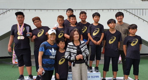 예천初 박현 선수, 회장기 전국 초등 양궁 금메달 획득