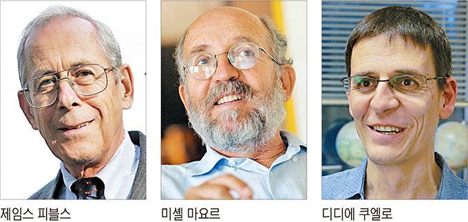 노벨물리학상, 우주진화 비밀 밝힌 3명 공동수상