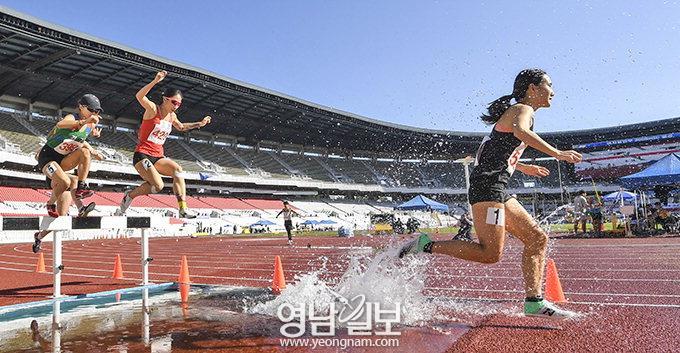 대구, 女자전거 '3연패·3관왕'…경북, 女육상 한국新