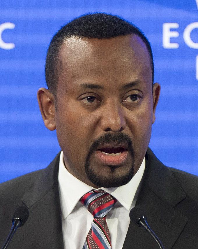 에티오피아 아비 총리, 노벨평화상