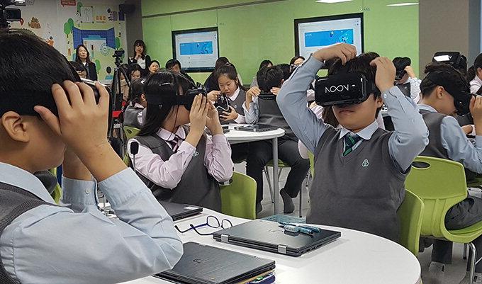 대구교대부설초, VR 등 활용…교과융합 프로젝트 공개수업