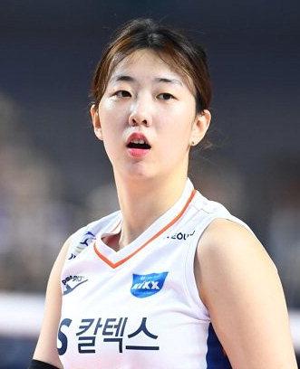 女프로배구 강소휘, 1라운드 MVP