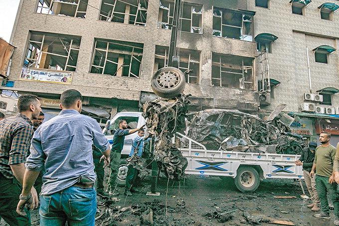 시리아 카미실리서 폭탄테러