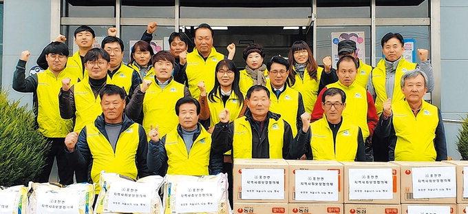 안동시풍천면지역사회보장協, 저소득층에 생필품 지원