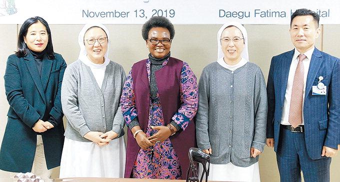 대구파티마병원, 탄자니아 대사와 의료협력 방안 논의