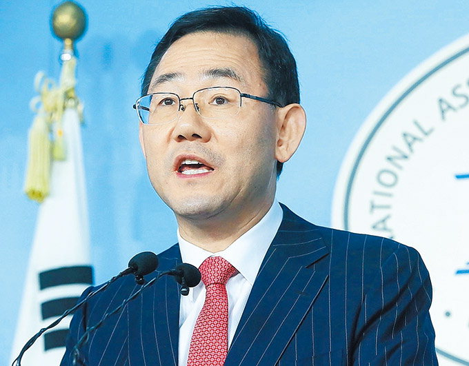 """주호영 """"선거법 통과땐 최대 135개 선거구 조정 불가피"""""""