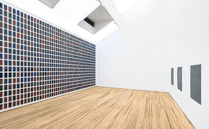 """직접 제작한 물감으로 칠한 1105개 조각 """"삶의 색과 닮았네"""""""