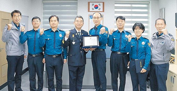 영천 중앙파출소 순찰1팀 '3분기 베스트순찰팀 표창'