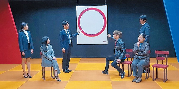 3천억 그림 둘러싼 세 자녀의 유산쟁탈전 연극무대로