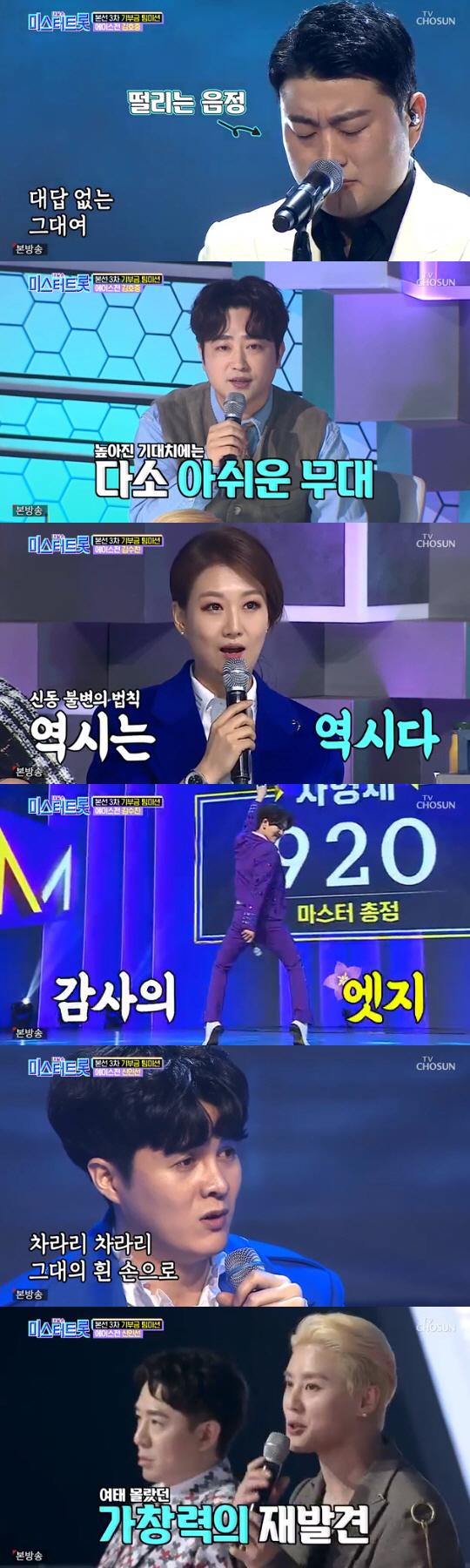 시청률 30% 넘긴 `미스터트롯`, 결승진출자 14명 공개…3차 `진` 임영웅