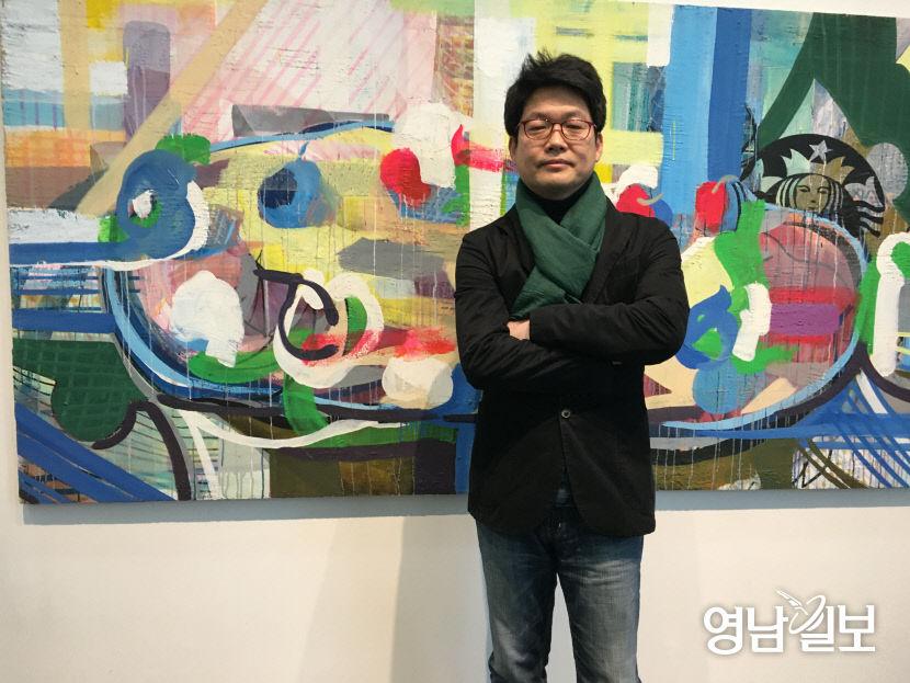 [인터뷰] 대구 우손갤러리서 6월26일까지 `프레인팅`展 권순왕 작가