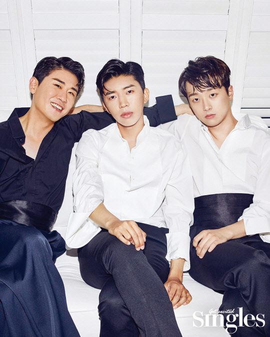 `미스터트롯` 임영웅·영탁·이찬원, 매력터지는 화보