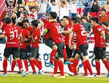 상무프로축구단 내년부터 상주서 김천으로 연고지 이전