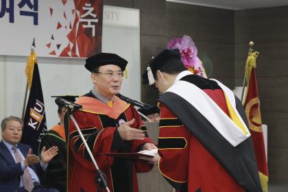 경일대, 신종 코로나에 졸업식 약식으로 개최