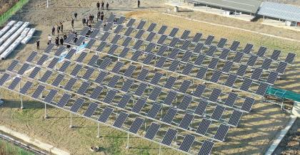 영남대, 캠퍼스내 태양광발전R&BD실증센터…세계 유일 '영농형' 설비