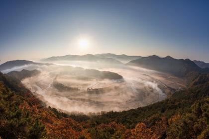 트로트 열풍에 예천 `회룡포` 유명세…관광코스 문의 이어져