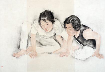 김호석(65) 수묵화가 `2021석재문화상` 수상...청년작가상엔 권상희 서예가