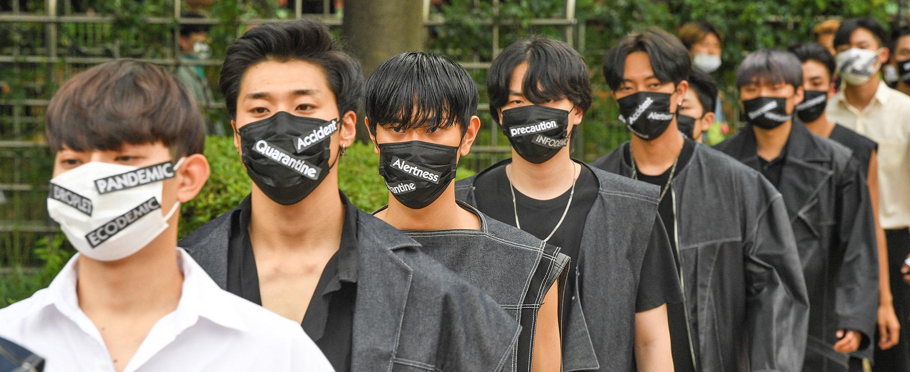 [포토뉴스] 일상 속 패션이 된 마스크