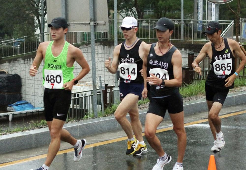 김현섭, 전국종별육상 20㎞ 경보 1초 차로 우승…1시간29분02초