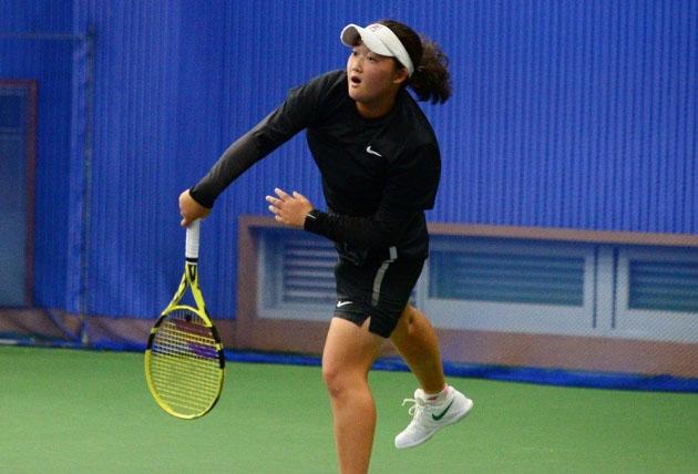 김은채, 학생테니스선수권대회 여자 18세부 단식 우승