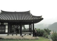 학봉 김성일 형제들이 학문을 연마하던 백운정.2