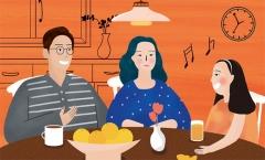 [밥상머리의 작은 기적] 인성교육- 대화로 가족건강 찾기