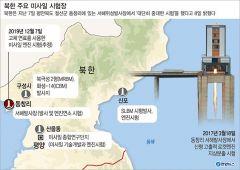 """北 """"서해위성발사장서 중대한 시험""""…ICBM 도발 재개 위협 '美 압박카드'"""