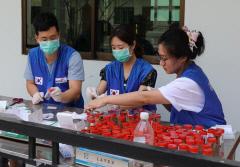 건협, 캄보디아 주민 기생충 감염 조사