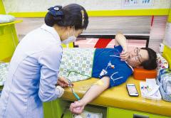 W병원, 생명나눔 실천…의료진·직원 헌혈운동