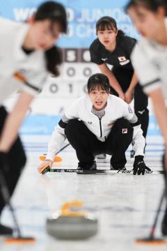 춘천시청 여자컬링 '팀 민지' 주니어선수권 9연승·예선 1위