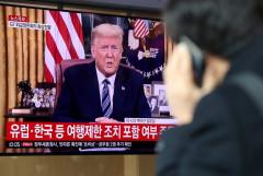 트럼프, 한국 여행제한 완화 가능성 시사…유럽서 美여행은 중단