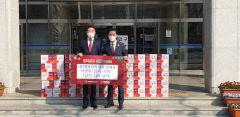 팔공산김치, 저소득 가정위해 대구 동구청에 김치 110상자 전달