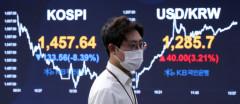 금융시장 백약이 무효, 주가 원화가치 채권값 '트리플 폭락'
